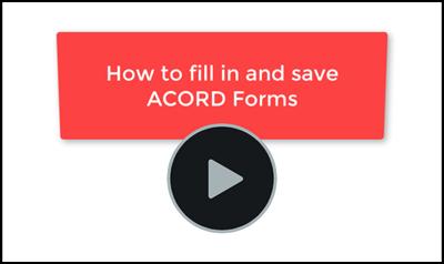 Free ACORD Forms | acords com