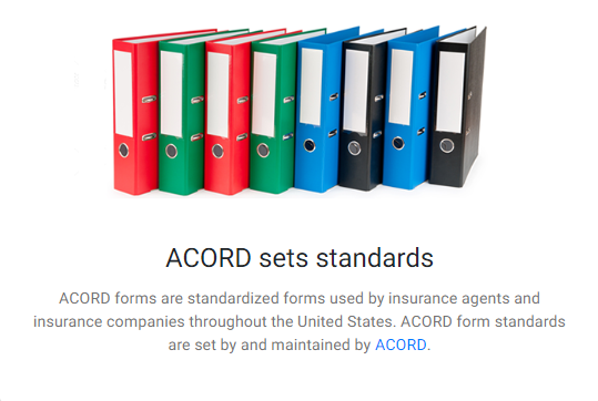Choices 800 873 4757 Free Acord Forms Frequently Used